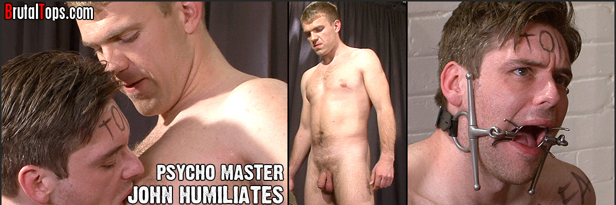 Snarling schoolboy Master Charlie returns to complete his humiliating treatment of submissive worm elliott. This time the dangerous top can't be bothered to remove his clothes but instead treads all over the worm and treats him like the worthless shit he is.